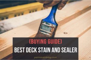 Best Deck Stain And Sealer
