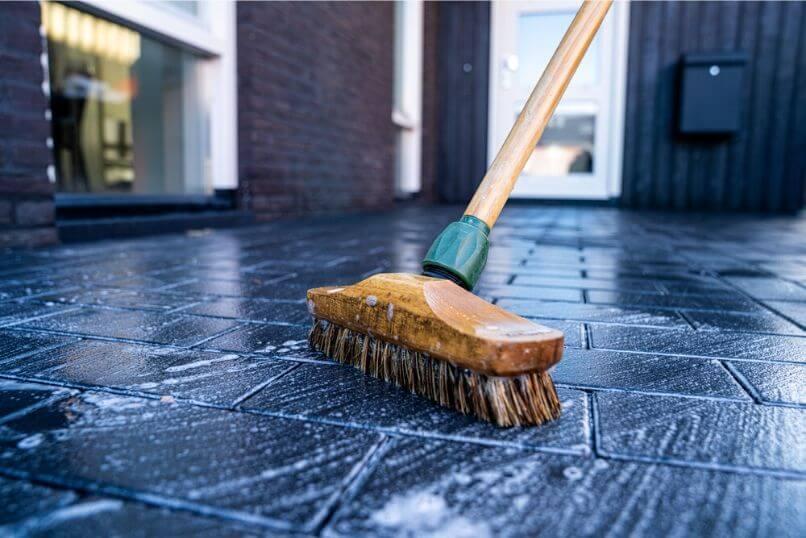 Concrete Stain Prep