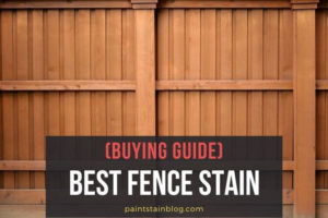 best fence stain