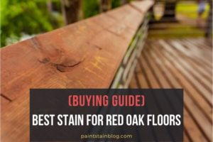best stain for red oak floors