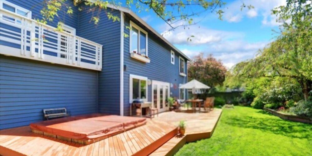 blue deck color
