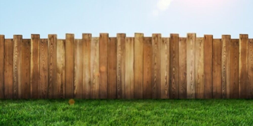 natural wood fence color