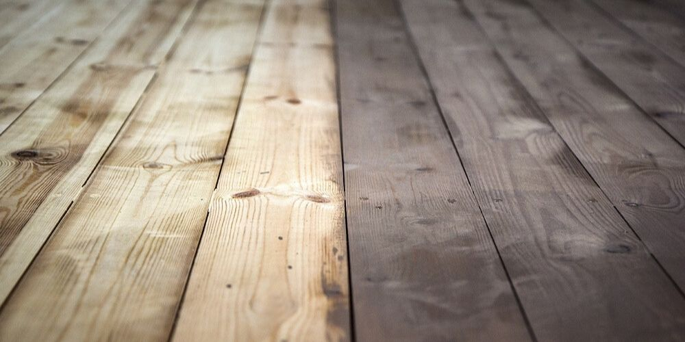 patchy deck stain