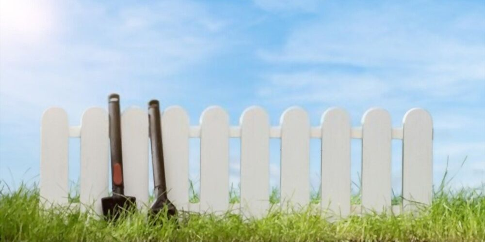 white fence color