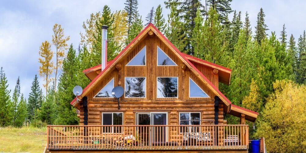 bestlog cabin stain