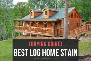 best log home stain