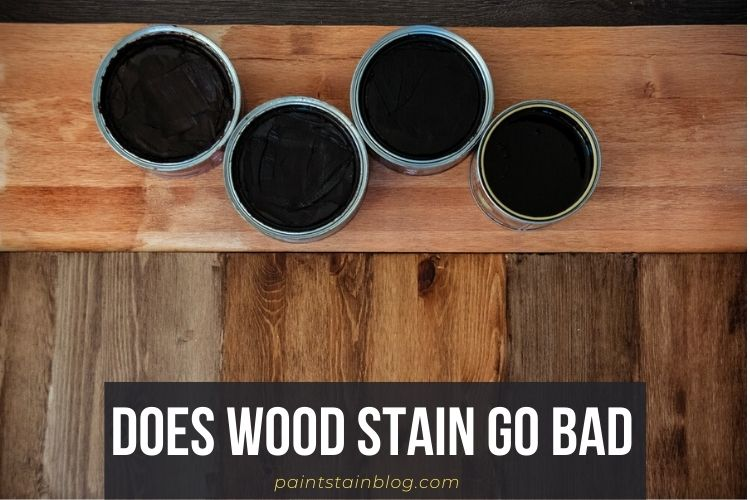 does wood stain go bad