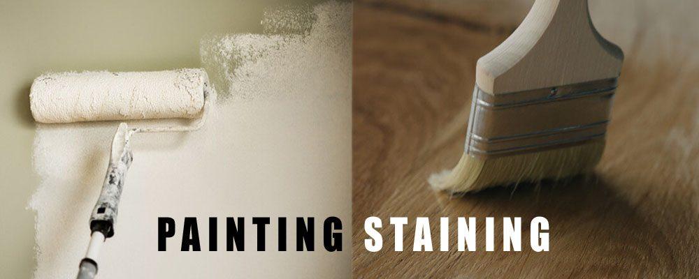 painting or staining cedar sidingg